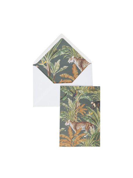 Mighty Jungle Greeting Card - per 6