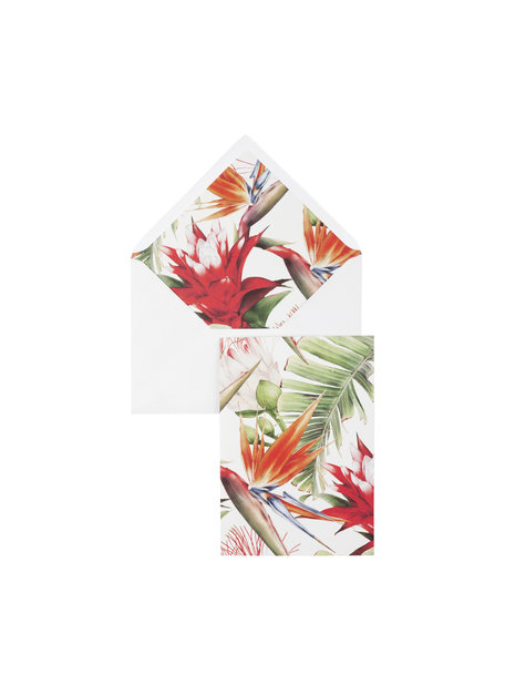 Power Flower Greeting Card - per 6