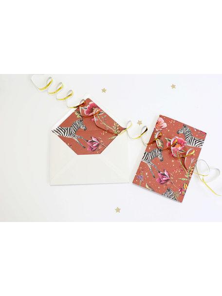 Showpony Greeting Card - Joyeux Anniversaire - per 6
