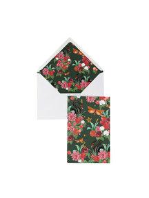 Wild roses Greeting Card - per 6