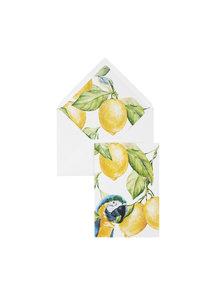 Yellow Lemon Tree Greeting Card - per 6