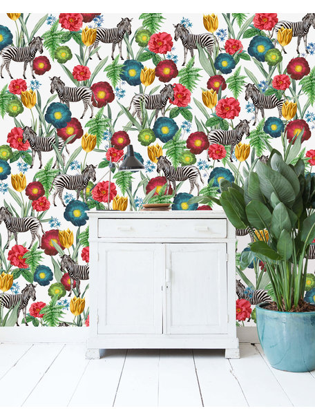 Creative Lab Amsterdam Happy Poppy Wallpaper