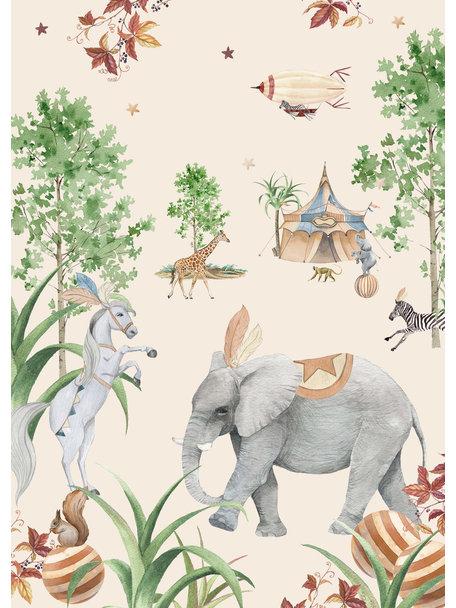 Creative Lab Amsterdam Elephant Wallpaper Setting
