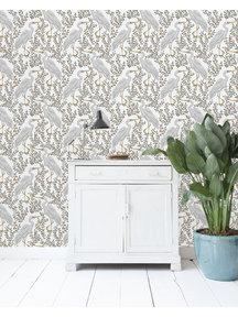 White Heron Light Wallpaper