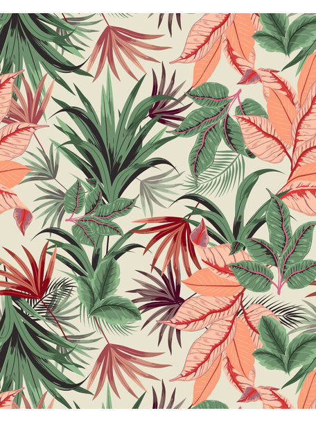 Creative Lab Amsterdam Pink Jungle Bathroom Wallpaper