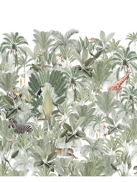 Creative Lab Amsterdam Into the Wild Bathroom Wallpaper setting