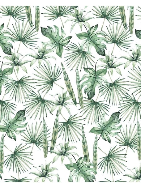 Creative Lab Amsterdam Jungle Leaves Bathroom Wallpaper