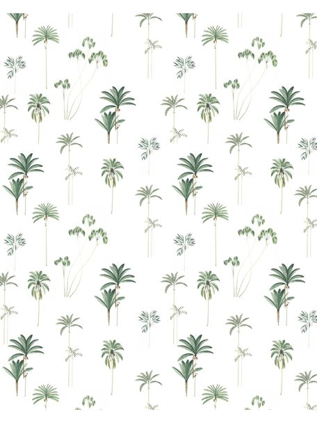 Creative Lab Amsterdam Palms Bathroom Wallpaper