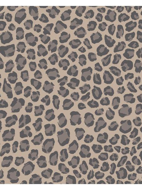 Creative Lab Amsterdam Rocky Leopard bathroom wallpaper