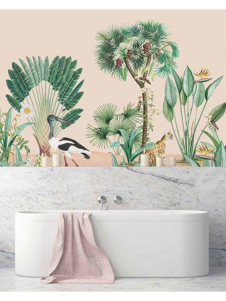 Creative Lab Amsterdam Catch Me Bathroom Wallpaper