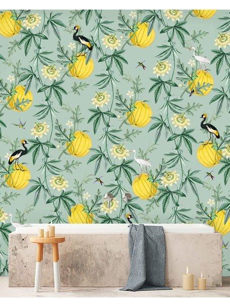 Creative Lab Amsterdam Crowned Bathroom Wallpaper