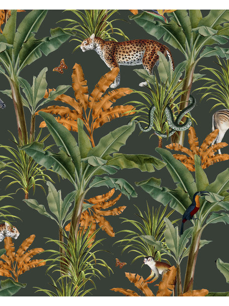 Creative Lab Amsterdam Mighty Jungle Bathroom Wallpaper