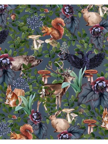 Creative Lab Amsterdam Oh Deer Bathroom Wallpaper