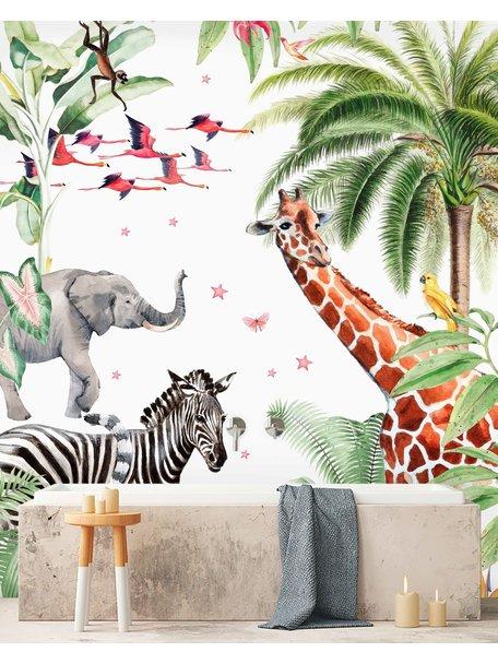 Creative Lab Amsterdam Rebecca Boektje - Yuki Bathroom Wallpaper