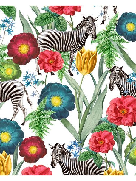 Creative Lab Amsterdam Happy Poppy bathroom Wallpaper