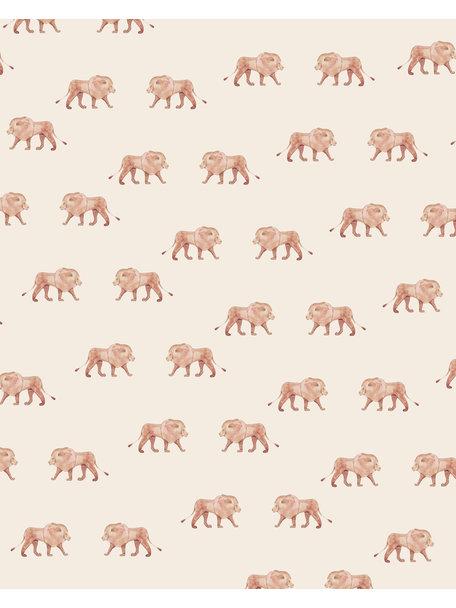 Creative Lab Amsterdam Safari King Bathroom Wallpaper