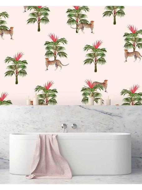 Creative Lab Amsterdam Watch My Back Bathroom Wallpaper