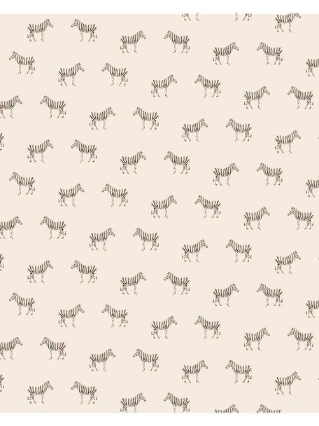 Creative Lab Amsterdam Safari Zebra Bathroom Wallpaper