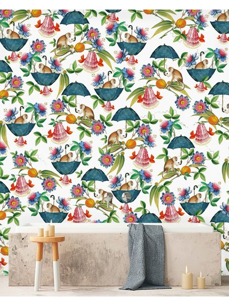 Creative Lab Amsterdam Mr Nilson Bathroom Wallpaper