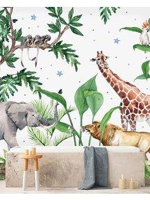 Creative Lab Amsterdam Chantal Bles - Josh bathroom Wallpaper