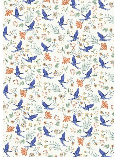 Creative Lab Amsterdam Paisley Parrot Wallpaper