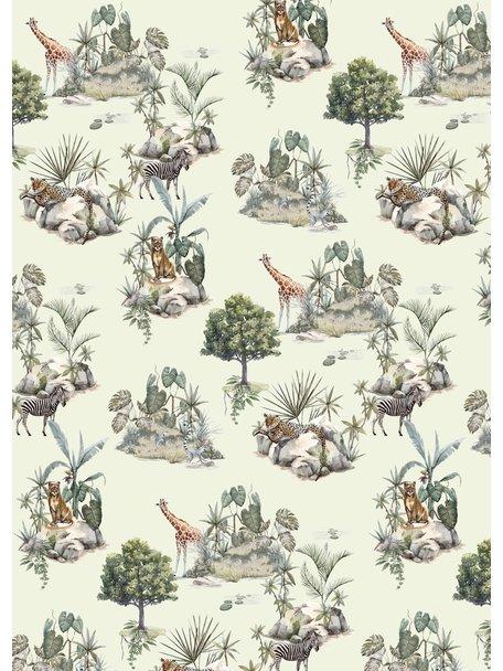 Creative Lab Amsterdam Safari Rocks Wallpaper