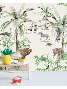 Creative Lab Amsterdam Just Another day in the Jungle Wallpaper