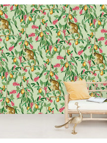 Creative Lab Amsterdam Tropical Monkey Wallpaper Mural