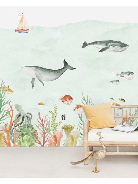 Creative Lab Amsterdam Sealife Coral Wallpaper Mural