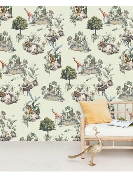 Safari Rocks Wallpaper