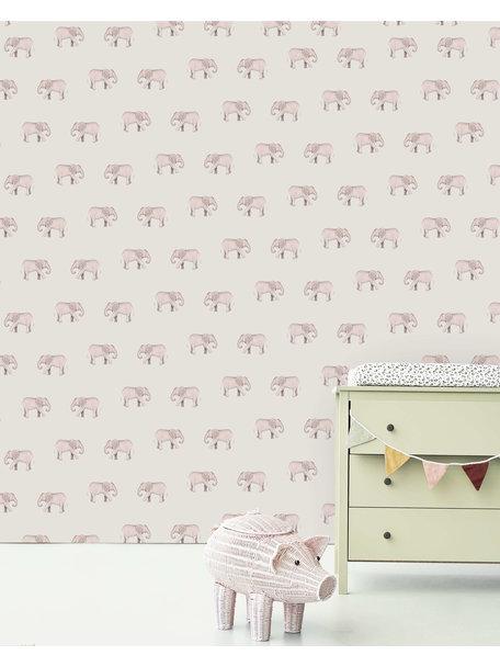 Creative Lab Amsterdam Safari Elephant Mural
