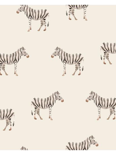 Creative Lab Amsterdam Safari Zebra Mural