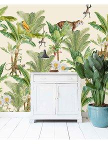 Chantal Bles - Flower Garden Wallpaper
