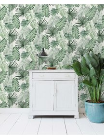 Leave Wall Wallpaper