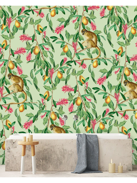 Tropical Monkey Wallpaper