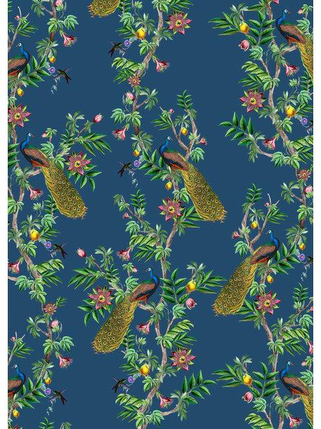 Creative Lab Amsterdam Peacock Wallpaper