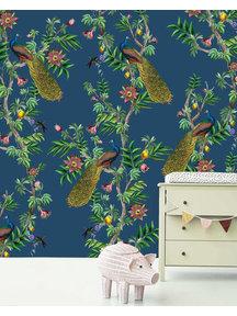Passion Peacock Wallpaper