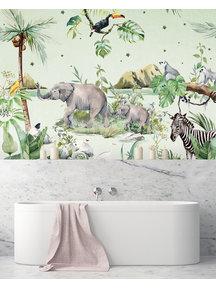 Creative Lab Amsterdam Anouk Hogendijk Bathroom Wallpaper
