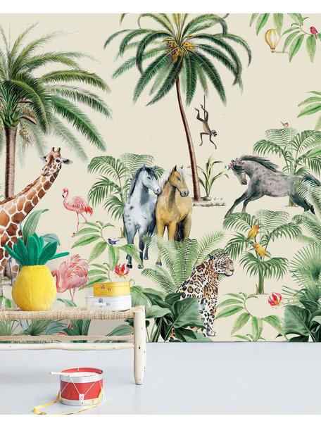 Jungle Horse Wallpaper