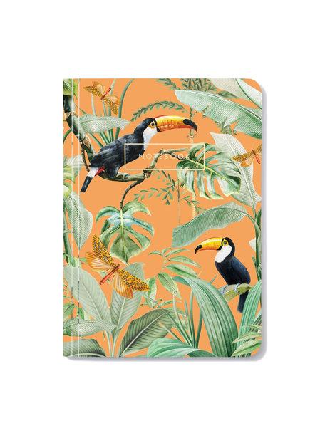 Creative Lab Amsterdam Flirting Toucans Notebook - per 6