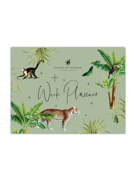 Creative Lab Amsterdam Mighty Jungle Weekplanner - per 6