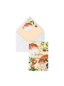 Creative Lab Amsterdam Blow Up  Greeting Card - Joyeux Anniversaire - per 6