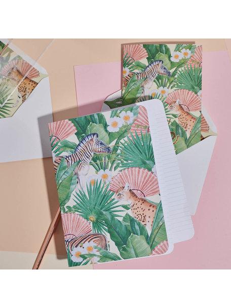 Creative Lab Amsterdam Flower Garden Notebook - per 6