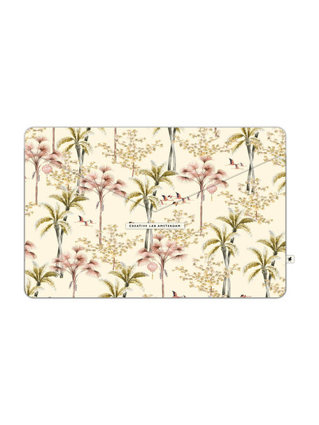 Creative Lab Amsterdam Oriental Flamingo Flight Laptopsleeve - per 6