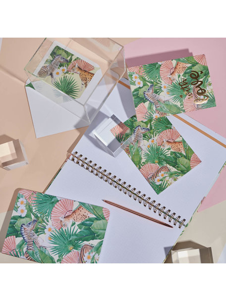 Creative Lab Amsterdam Flower Garden Greeting Card - per 6