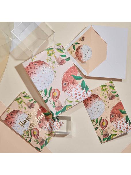 Creative Lab Amsterdam Blow Up Greeting Card - per 6