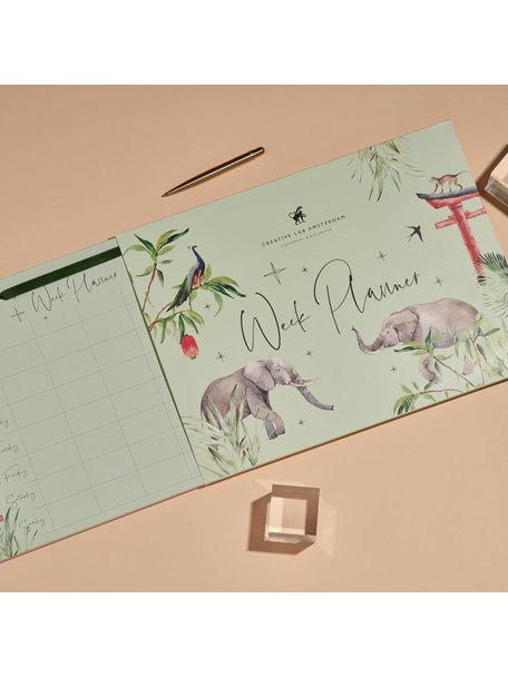 Creative Lab Amsterdam Rituals Elephant Weekplanner - per 6
