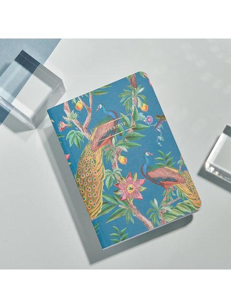 Creative Lab Amsterdam Passion Peacock Notebook - per 6