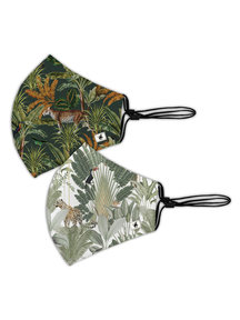 Creative Lab Amsterdam Mighty Jungle/Into the Wild Facemask - per 6