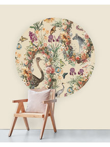 Creative Lab Amsterdam Never Ending Story Wallpaper Circle